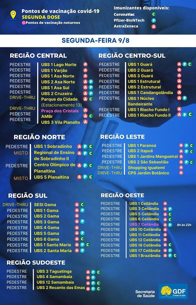 pontos-de-vacinacao-segunda-dose-saude-brasilia-df-covid-segunda