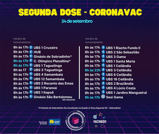 vacina-df-vacinacao-df-covid-segunda-dose-coronovac-saude-brasilia