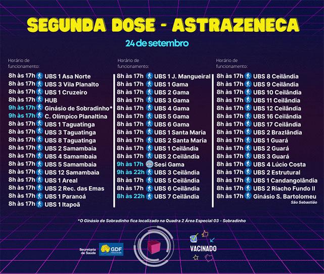 vacina-df-vacinacao-df-covid-segunda-dose-astrazeneca-saude-brasilia